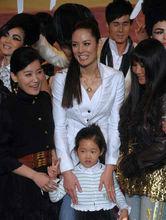 前妻马艳丽与女儿